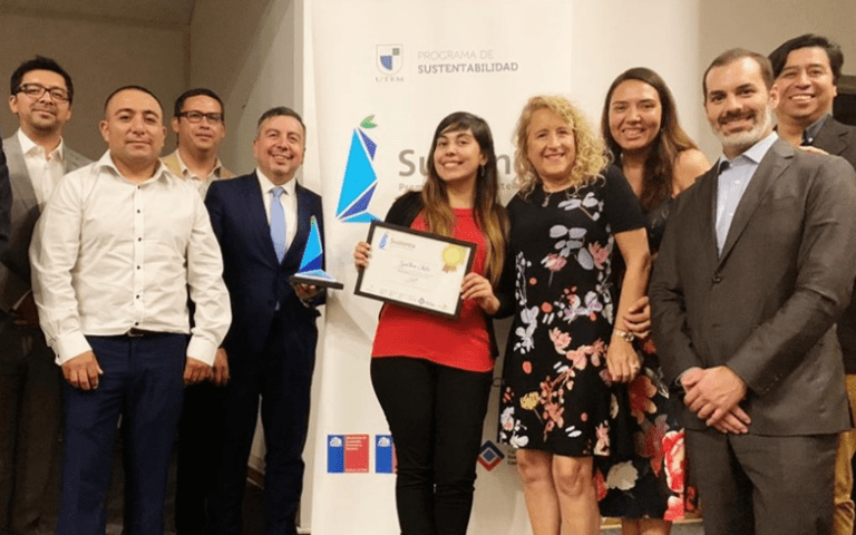 Synthon Chile wins Sustenta Prize