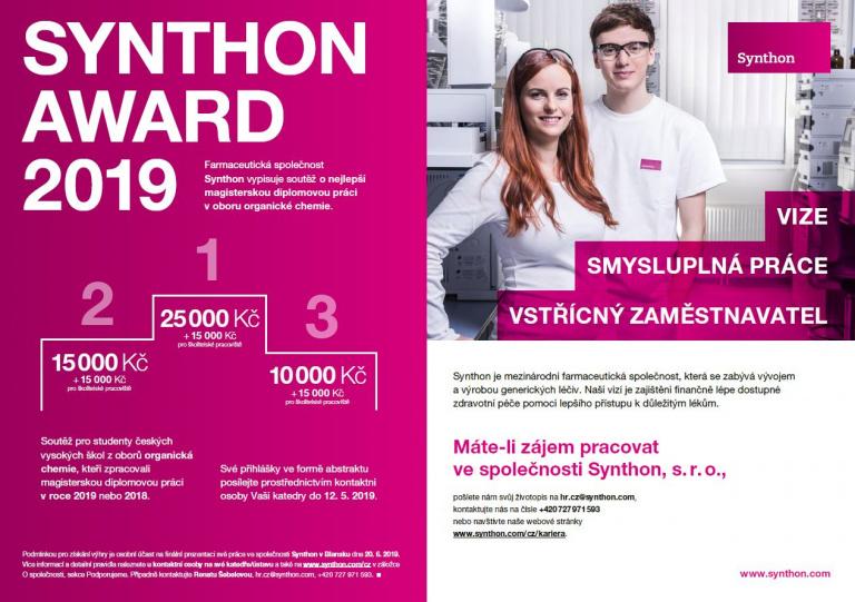 Synthon Award 2019