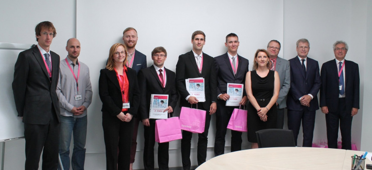 Finalists of the Czech 2017 'Best thesis in organic chemistry' competition